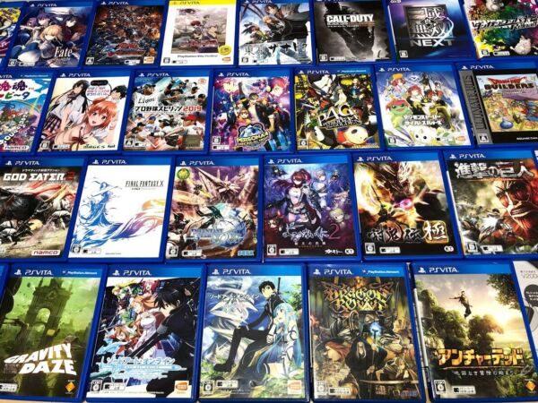 Sony PS Vita PlayStation Various Used Video game w case JAPAN Import $19.99