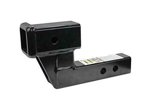 MAXXHAUL 50397 Trailer Hitch Riser for 2 Inch Receivers with 4 Inch Rise Drop $58.99