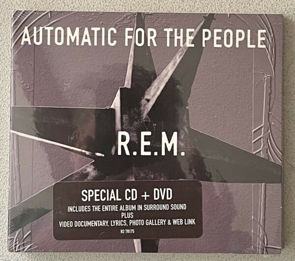 NEW SEALED Automatic for the People CD amp; DVD Digipak by R.E.M. Feb 2005 $40.00