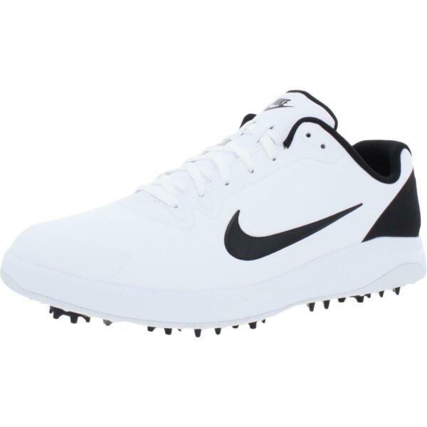 Nike Infinity G Men#x27;s Waterproof Faux Leather Spiked Performance Golf Shoes $49.99