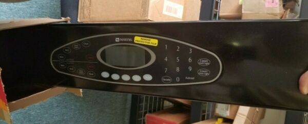 Maytag 5765M440 60 Black Oven Control Panel with Touch Pad