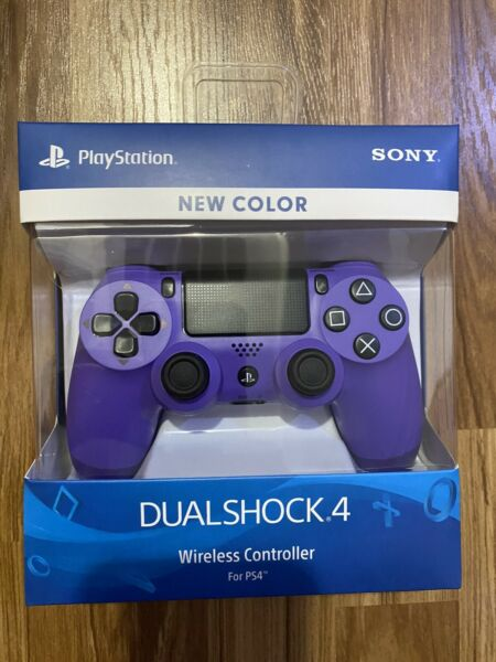 OFFICIAL SONY OEM Factory Sealed Dualshock 4 ELECTRIC PURPLE PS4 CONTROLLER $59.99