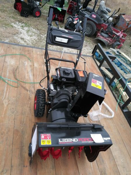 Legend Force 24 in. Two Stage Gas Snow Blower with Electric Start PICK UP ONLY