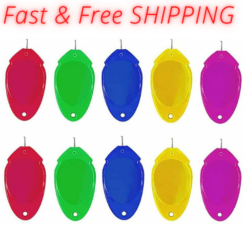 Needle Threader for Hand Sewing 10 Pcs Plastic Wire Loop Simple DIY Sewing US $6.10