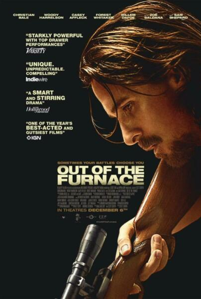OUT OF THE FURNACE 11quot;x17quot; Movie Poster Print Glossy Borderless USA NEW $12.99