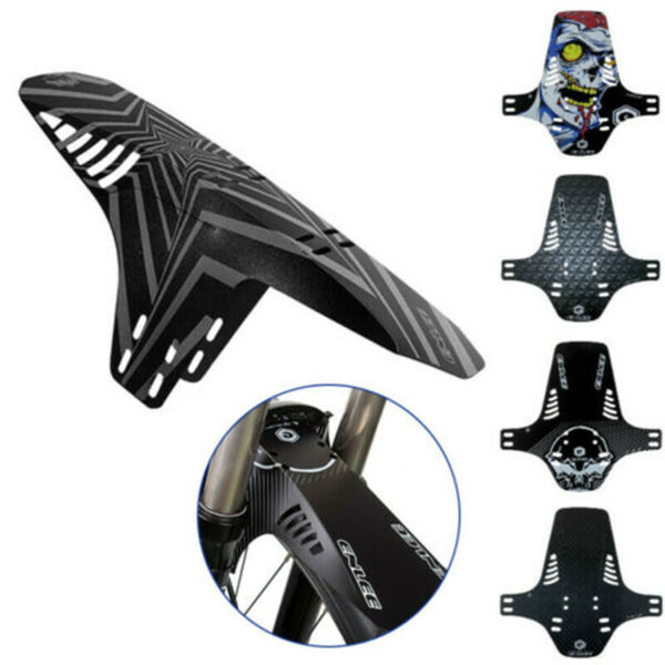 MTB Fender Set Front Rear Road Folding Bicycle PVC Mud Guard Cycling Accessories $5.99