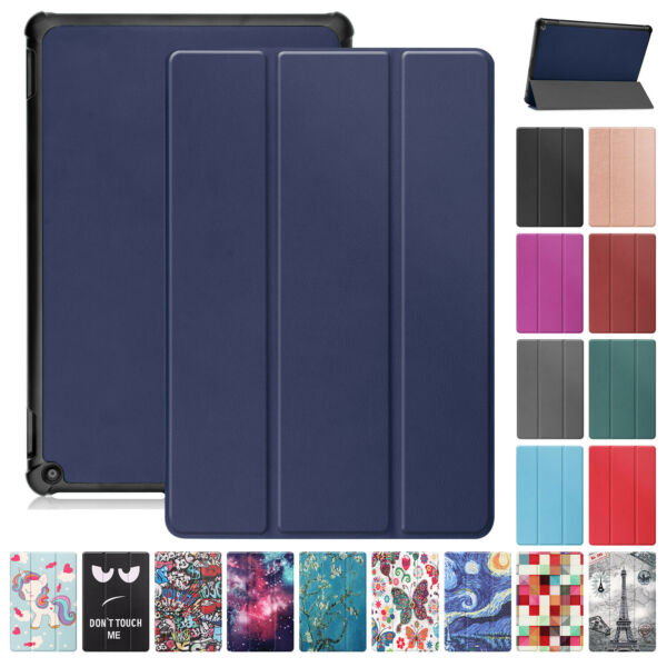 For Amazon Kindle Fire HD8 HD10 Plus 2021 10.1quot; 11th Gen Smart Stand Case Cover