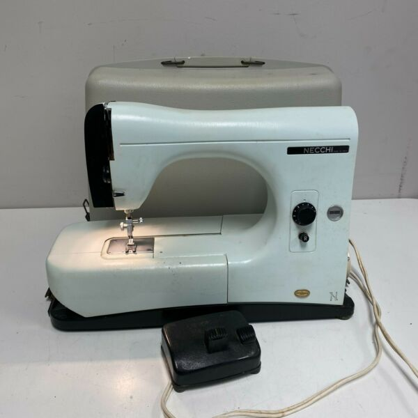 Italian Necchi Lydia Type 544 Sewing Machine TESTED AND WORKING