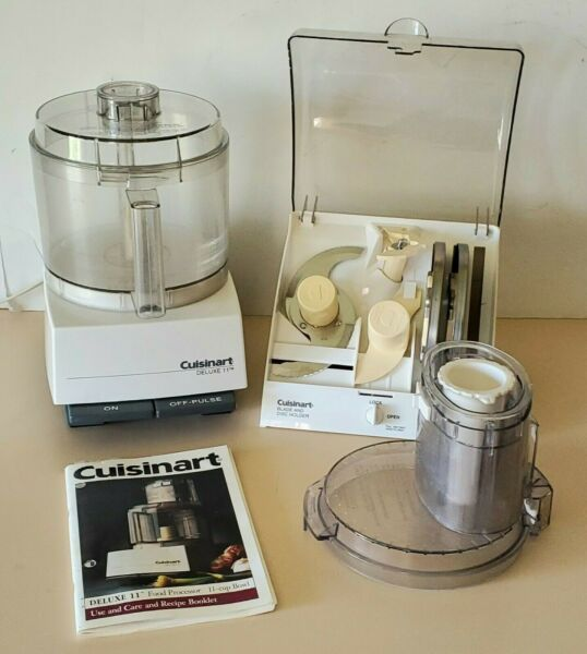 Cuisinart Deluxe 11 Food Processor With Accessories