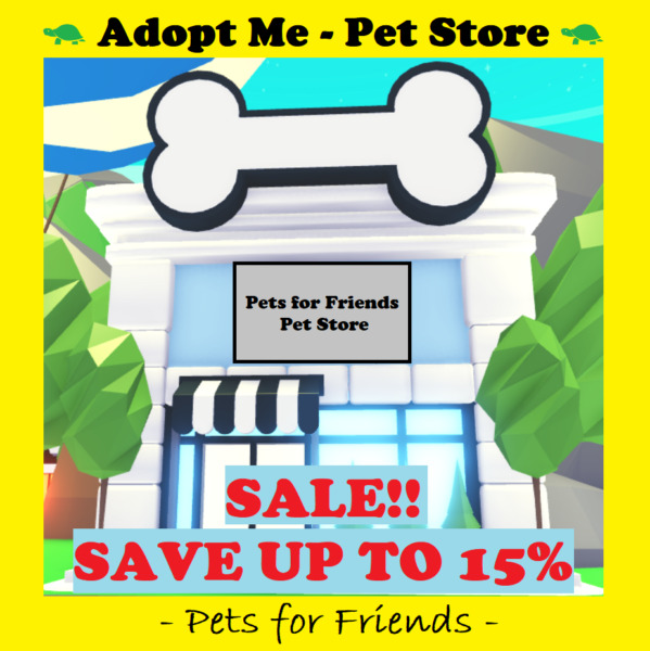 ⭐Adopt Me Pet Store 🔥HUGE INVENTORY UP TO 15% OFF🔥 w Purchase of Digital Art⭐ $5.25