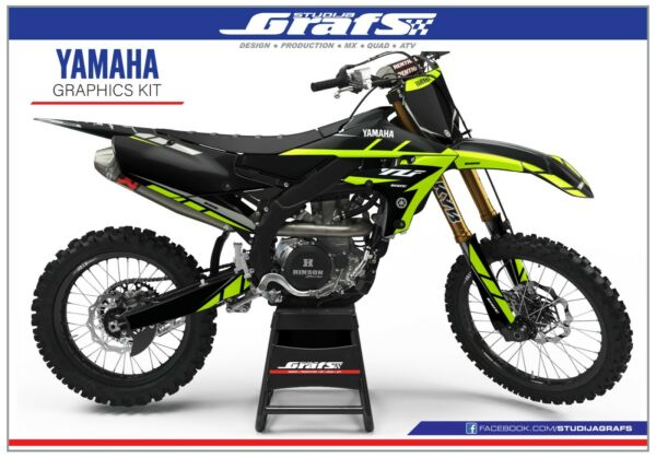 2018 2019 2020 YZ 450F Graphics Kit For YAMAHA YZ450F YZF 450 Decals Stickers MX $149.00