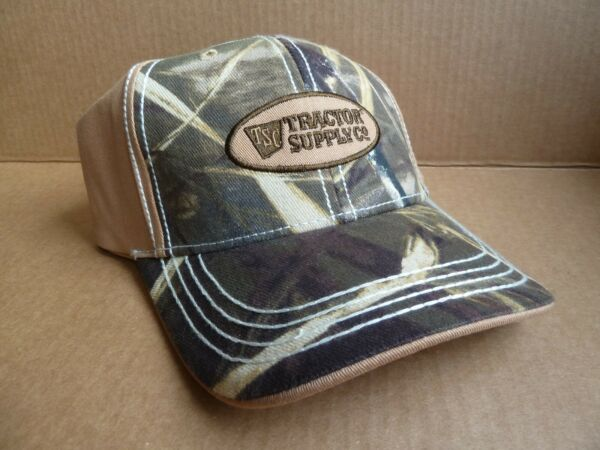 New Without Tags TSC TRACTOR SUPPLY Camo Snapback HAT Cap NEW NEVER WORN $14.99