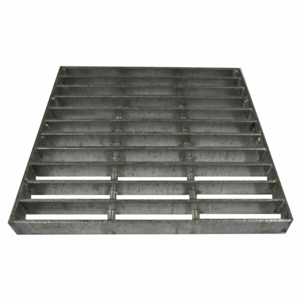 NDS 1215 12quot; Square Galvanized Steel Grate.