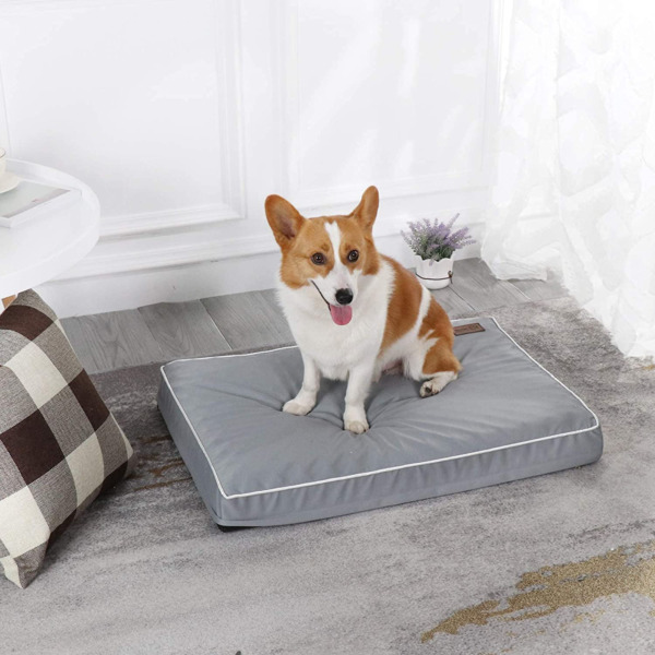 Western Home Dog Beds for Medium Dogs Orthopedic Dog Bed with Egg Foam Pet Cra $34.81