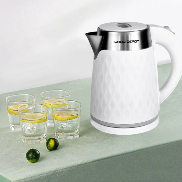 WOOWDEPOT 2L Electric Kettle Kitchen Water Boiler Stainless Steel Tea Kettles US $24.89