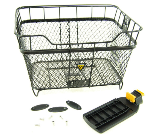 Topeak Bicycle Rear Basket with MTX QuickTrack Quick Release $52.84