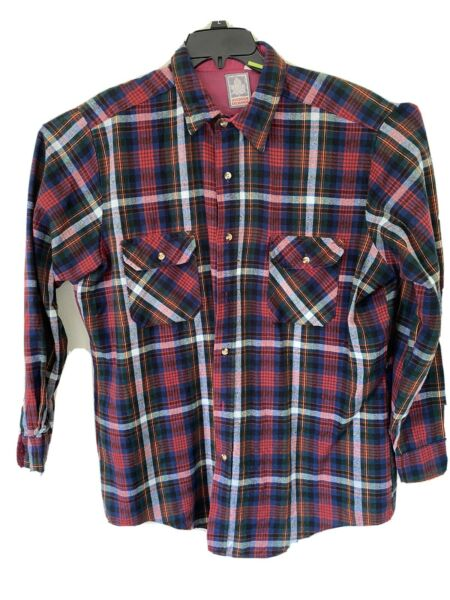 Men's Outdoor Exchange Flannel Size XL Tall Button Up Long Sleeve $20.00