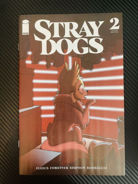 Stray Dogs #2 2nd Print Horror Variant Image Comics 2021 HIGH GRADE $19.99