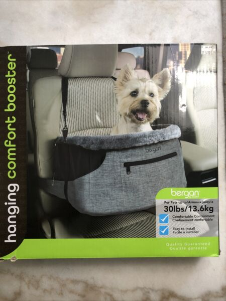 Bergan Comfort Hanging Booster Seat Black Small Pets up to 30 lbs $29.99