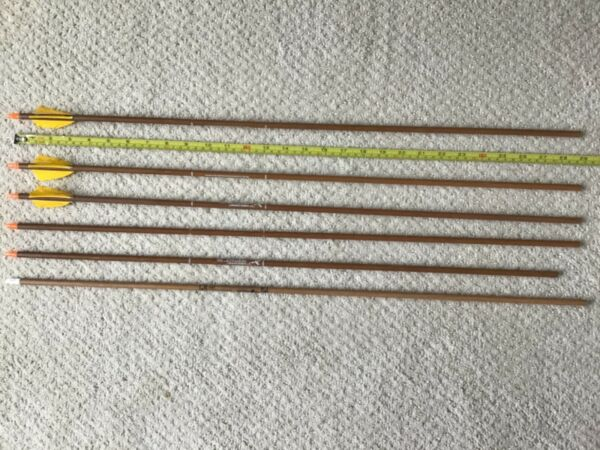 Carbon express heritage arrows shafts 350 longbow recurve self bow $25.00