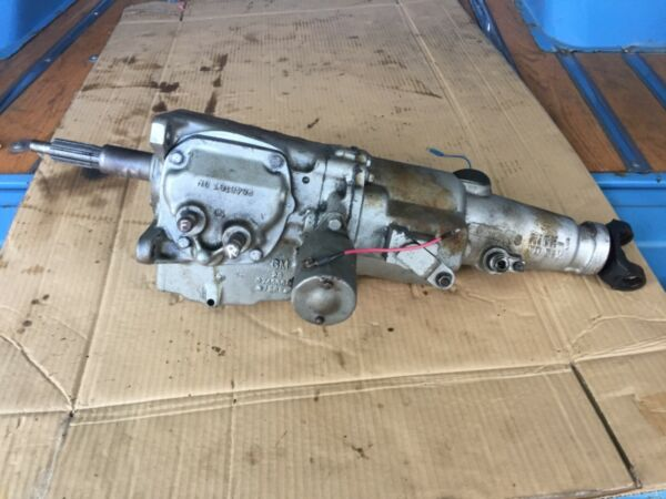 Borg Warner 3 Speed Transmission With R10 Overdrive Chevrolet