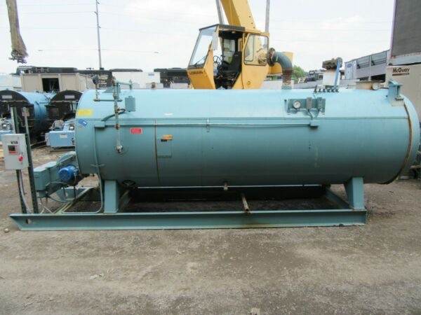 80 HP CLEAVER BROOKS 4 PASS CB PACKAGED 30 PSI NATURAL GAS BOILER CBE700 80 $11900.00