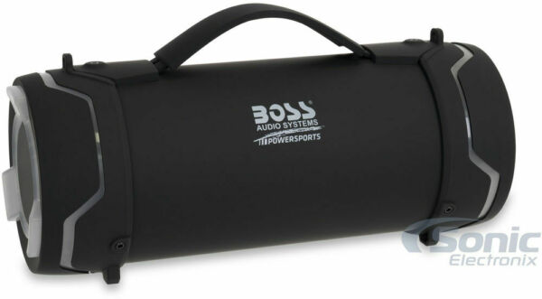 Boss TUBE IPX5 Water Resistant Portable Bluetooth Speaker System w Blue LED $49.99