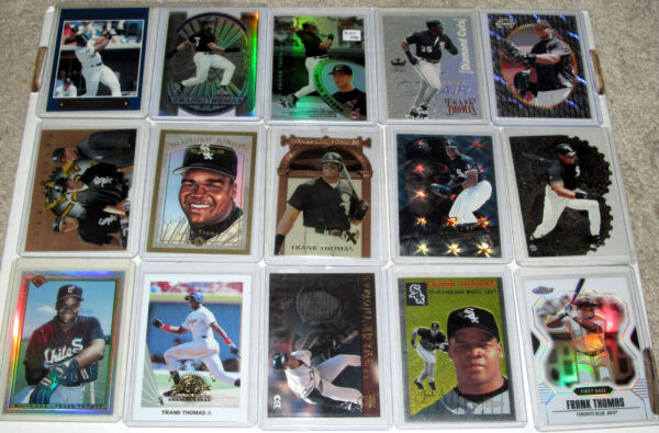 Frank Thomas U Pick w Tons of Inserts Parallels 84 Different $.99 Shipping $12.49