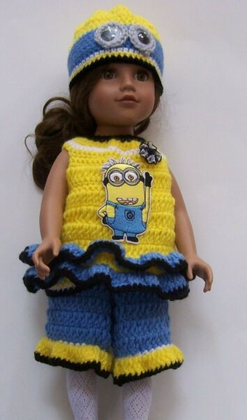 HANDMADE CROCHET CLOTHING amp; ACCESSORIES FOR 18quot; GIRL DOLLS Select One
