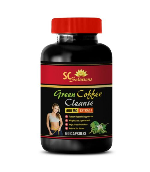 Fat loss cleanse GREEN COFFEE CLEANSE 400MG 1B green coffee beans unroasted