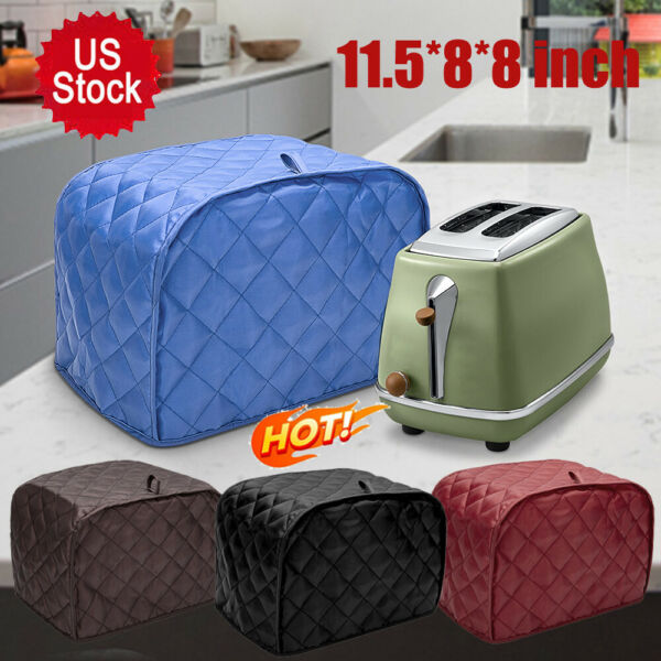 4Slice Toaster Cover Kitchen Toaster Free Dust Fingerprint Small Appliance Cover