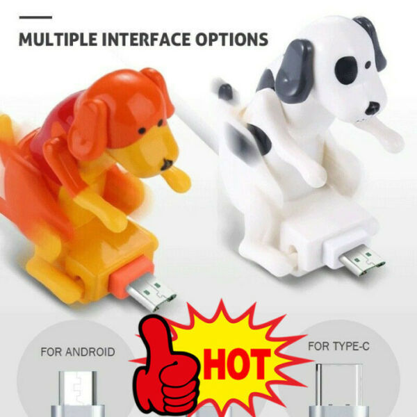 Funny Humping Dog Fast Charger Cable 6T8H $5.99