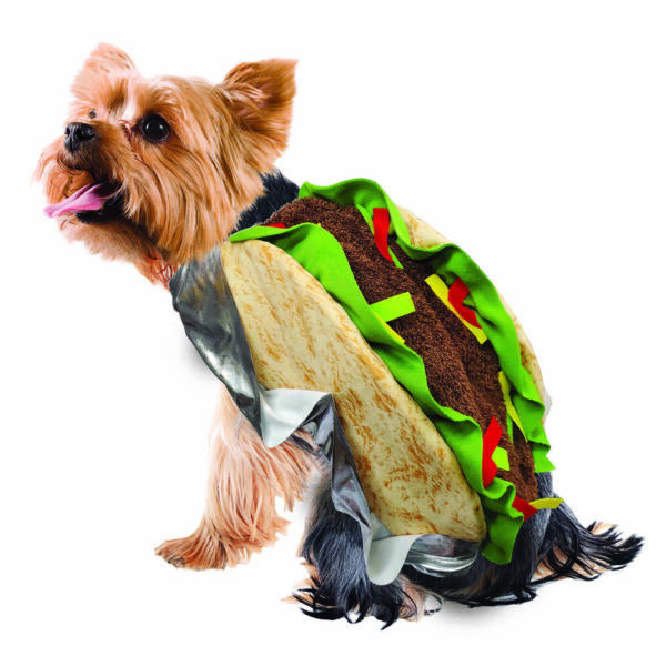 Way To Celebrate Halloween Plush Taco Costume Dogs Cats Small $19.95