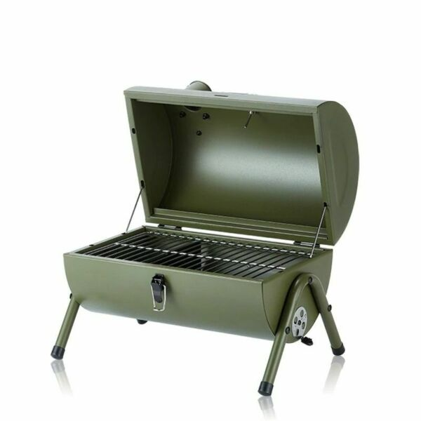 3 5 Person Portable Charcoal Grill Small BBQ Smoker Grill TabletopBarbecue Cha