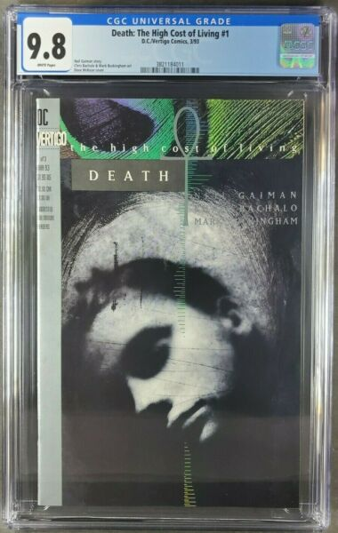Death: The High Cost of Living #1 1993 CGC 9.8 WP Neil Gaiman 3821184011 $199.99