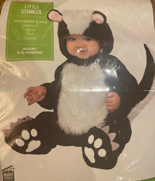 baby halloween costumes 3 6 months Lil Stinker $25.00