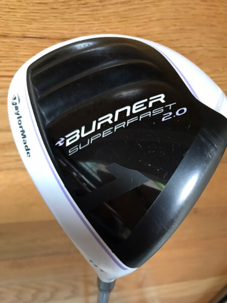 TaylorMade Burner SuperFast 2.0 Driver HT Right Handed Ladies Flex