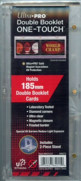 Ultra Pro Horizontal Double Booklet One Touch UV Protection for 185mm $14.00
