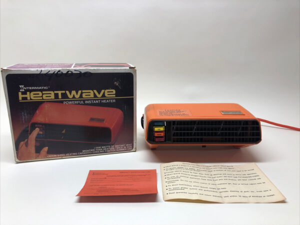 Intermatic Heatwave Powerful Instant Heater 1500 Watts Tested and Works Well $14.95