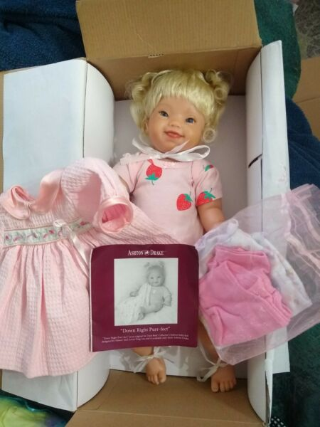 ashton drake doll so truly real Downright Purrfect pre owned