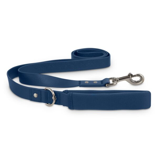 NEW Reddy Navy Durable Dog Lead Leash 6 ft. Pull Test 500LBS. $17.95