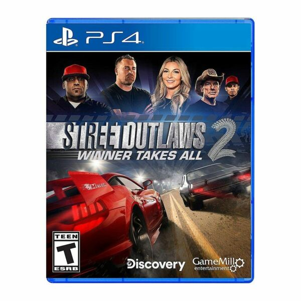 Street Outlaws 2: Winner Takes All PlayStation 4 ps4 $55.95
