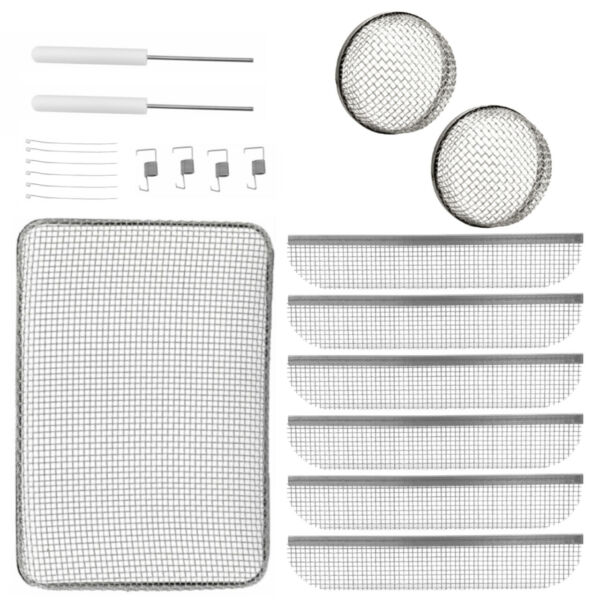 RV Vent Screen Kit for Water Heater Furnace and Refrigerator Vents $42.95