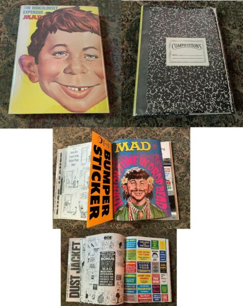 THE RIDICULOUSLY EXPENSIVE MAD BOOK 1st Edition amp; Printing 1969 HC Near Mint $367.50
