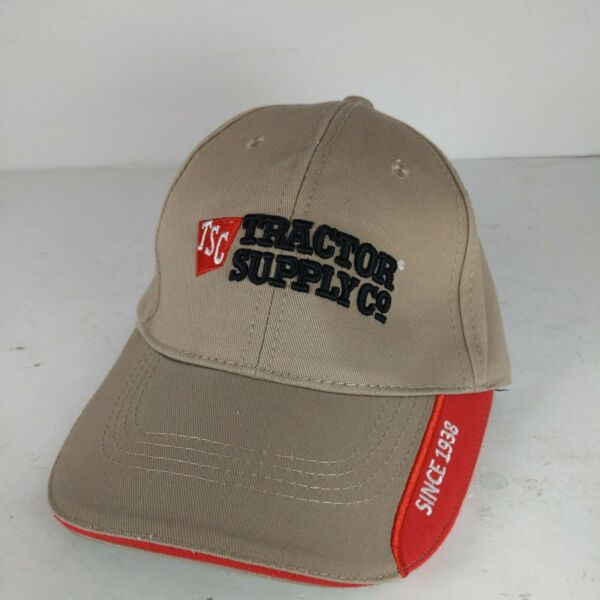 Tractor Supply Co Baseball Cap Embroidered Adjustable Hat Official TSC Gear $11.69