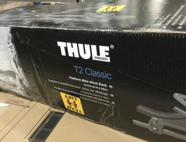 Thule T2 Classic hitch mount bike carrier Model 1.25quot; Receiver $499.99