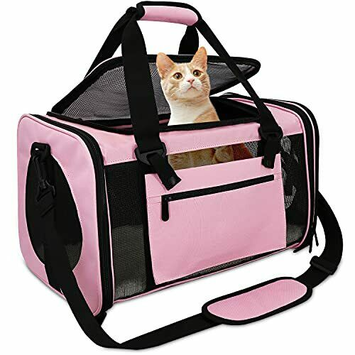 Qlfyuu Pet Carrier Airline ApprovedDog Carriers for Small Dogs 15lbsTSA Approv $37.68