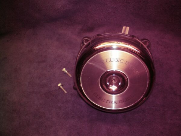 HARLEY EVO LATE 80s EARLY 90S STOCK ELECTRA GLIDE AIR CLEANER ASSEMBLY COVER $80.00