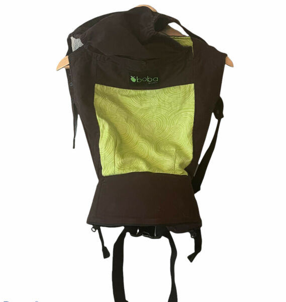 boba organic Baby carrier 3G Multiposition Infant Brown Green $31.49
