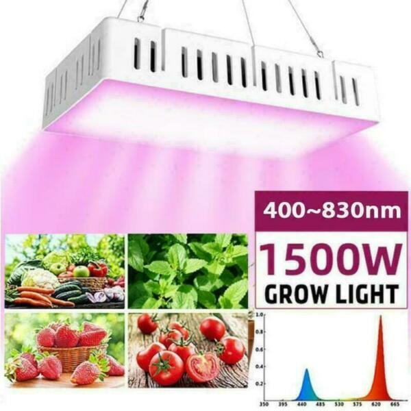 4 Heads LED Grow Light Growing Lamp Full Spectrum for Indoor Plants Hydroponics $20.99